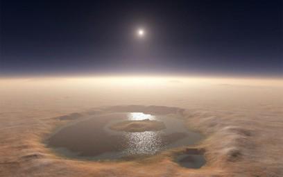 Apa pe Marte: a fost descoperit un sistem subteran de lacuri cu apă sub formă lichidă