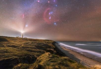 O selecție de imagini Astronomice uimitoare din Danemarca vizualizări