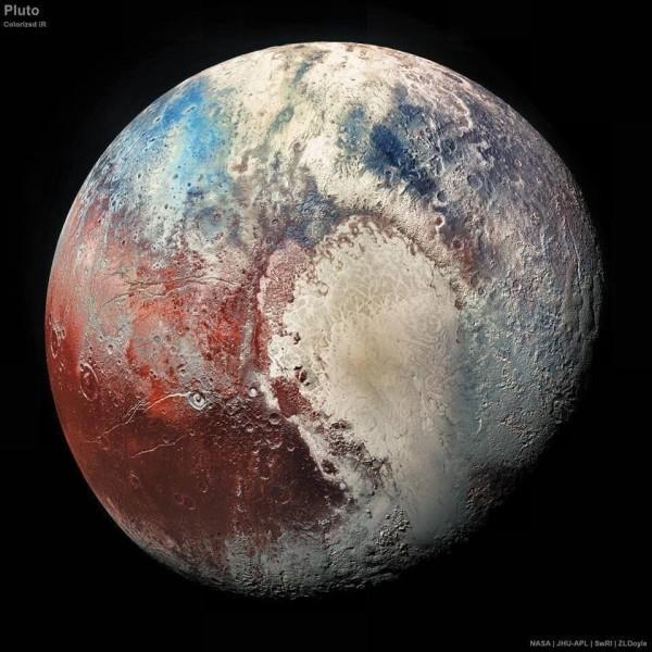 Planeta pitică Pluto - caracteristici și curiozități vizualizări