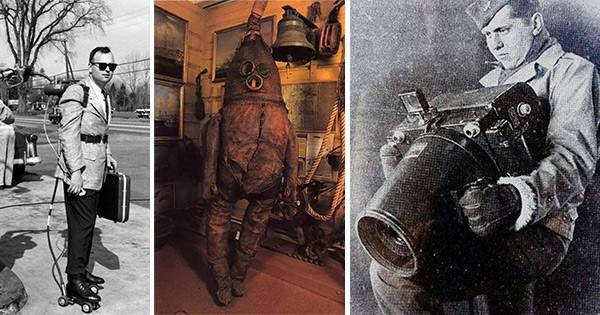 Invenții ciudate ale trecutului care acum arată ca scene din filme fantastice vizualizări